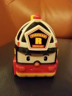 救援小英雄-消防車 Roy