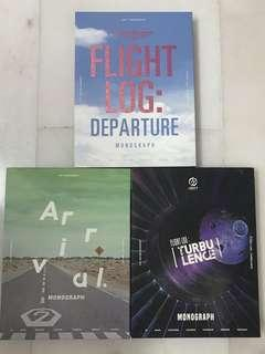 GOT7 FLIGHT LOG MONOGRAPHS DVD BOOK