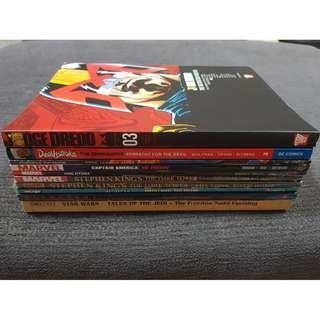 Comic TPB bundle (Marvel, DC, Image, Star Wars, Judge Dredd)