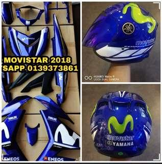 🔥YAMAHA MOVISTAR PACKAGE SET 🔥 MOVISTAR COMBO SET & FREE POSTAGE!!