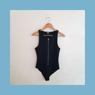 Black onesie top