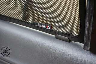 Groovy car shade for Mercedes C class W205