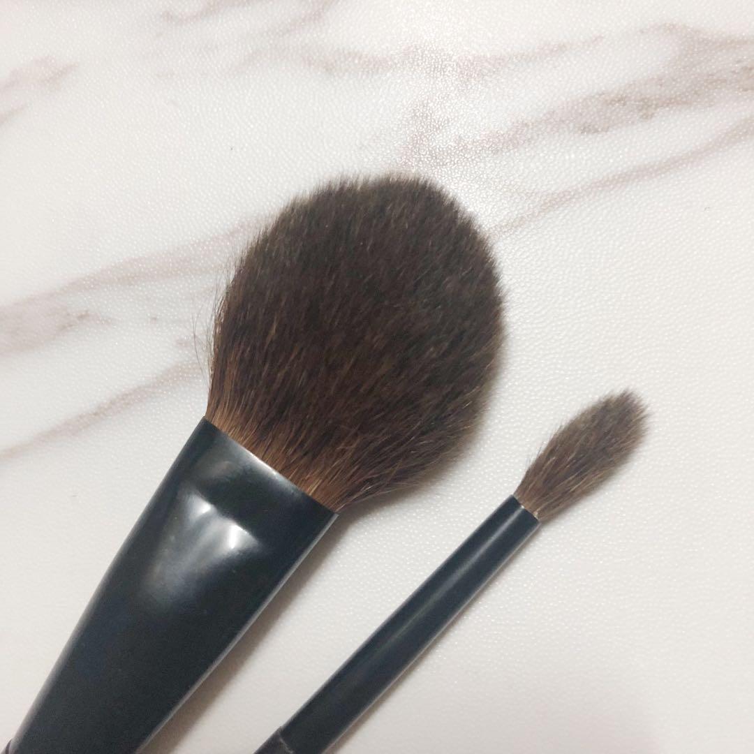 紅松鼠毛 胭脂掃 眼影掃 淘寶 化妝掃 blush brush eyeshadow brush