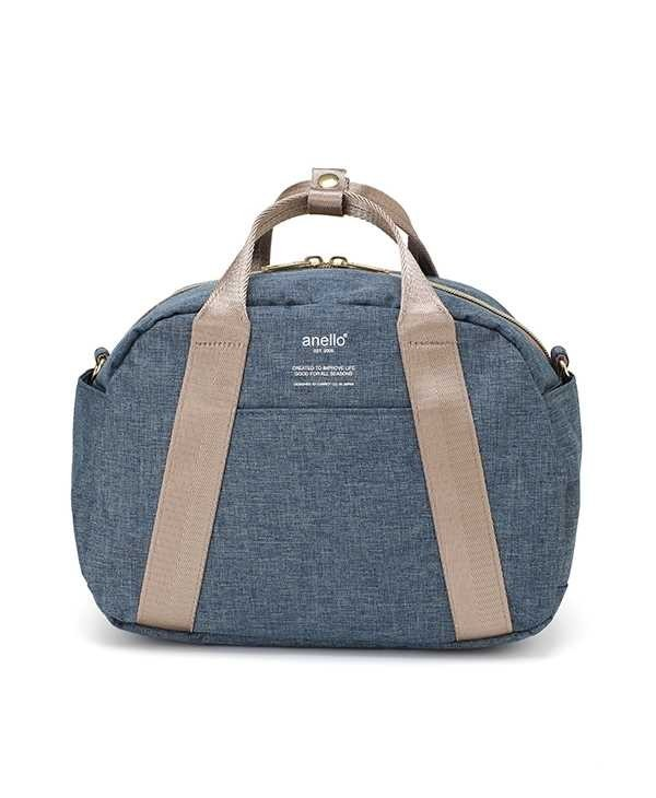 Authentic Denim Blue Anello Heather Mini Boston Bag Women s Fashion Bags   f7fa7c68be43e
