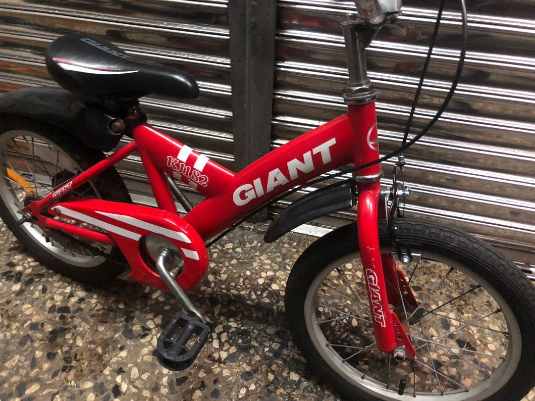 捷安特 Giant kj182 16吋 二手兒童車二手兒童腳踏車
