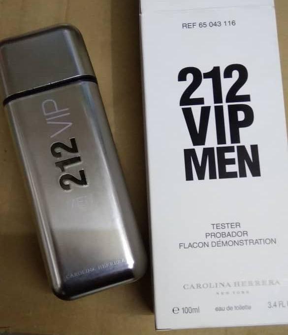 1bb9b245e 💯 original tester perfume Carolina Herrera 212 Men