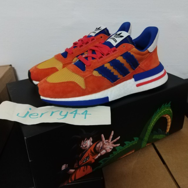 d821d3ad475c Adidas x Dragon Ball Z ZX 500 RM goku size US7.5 UK7