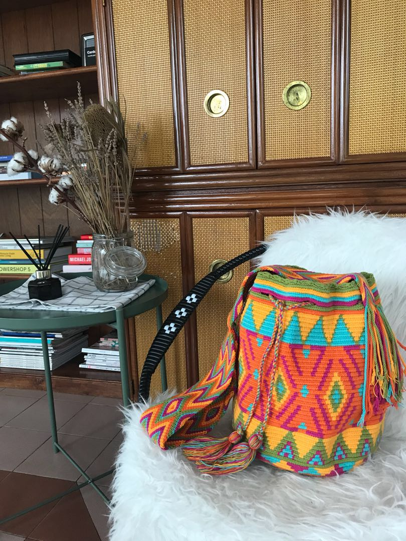 49231f675e5 Auth Handmade Wayuu Mochila Bags Colombia, Women's Fashion, Bags ...