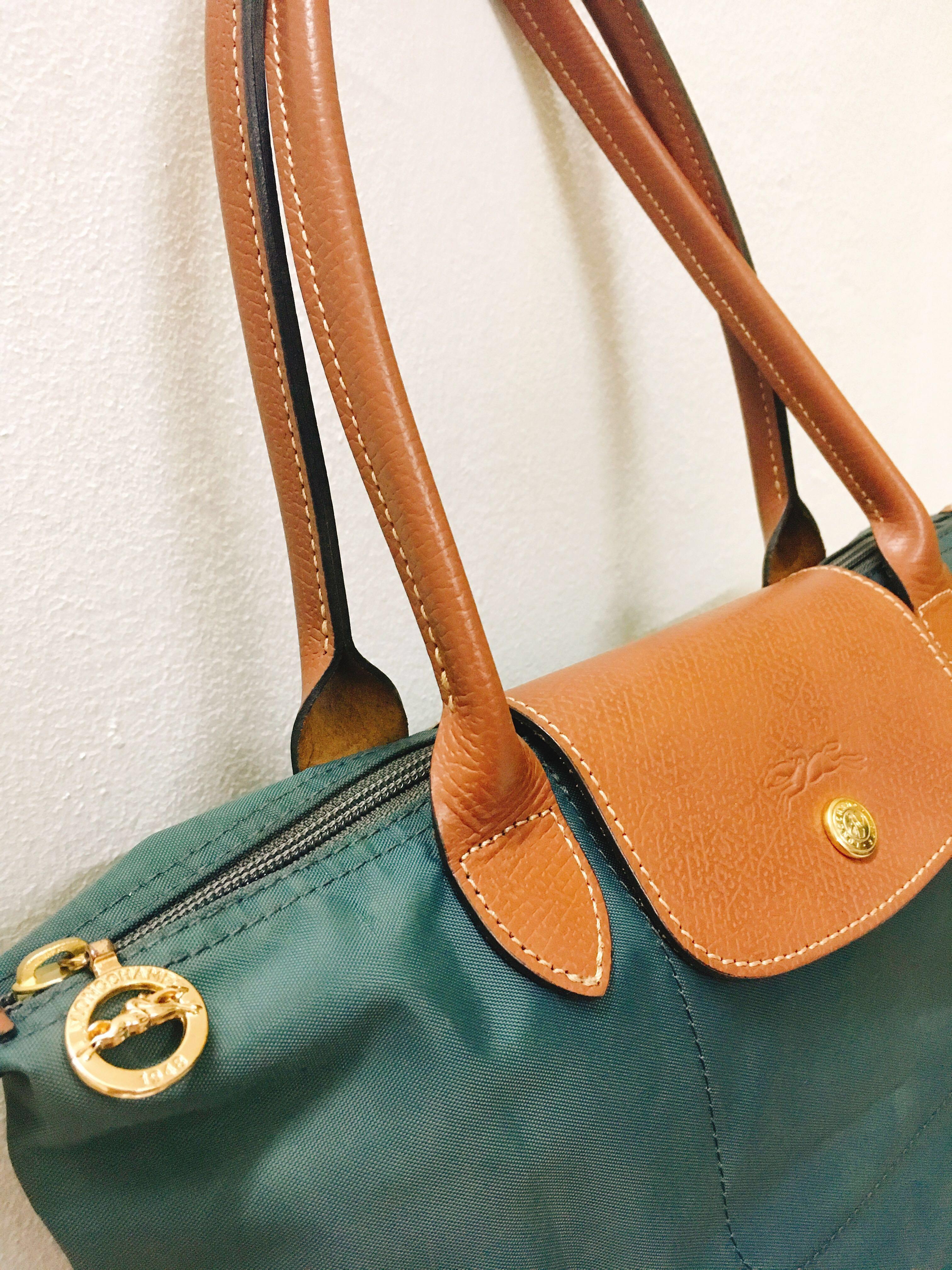 Authentic  Longchamp Le Pliage - Graphite ea8fd1720ee0a