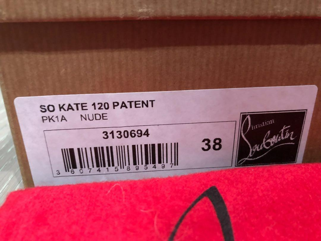 Authentic Louboutin So Kate