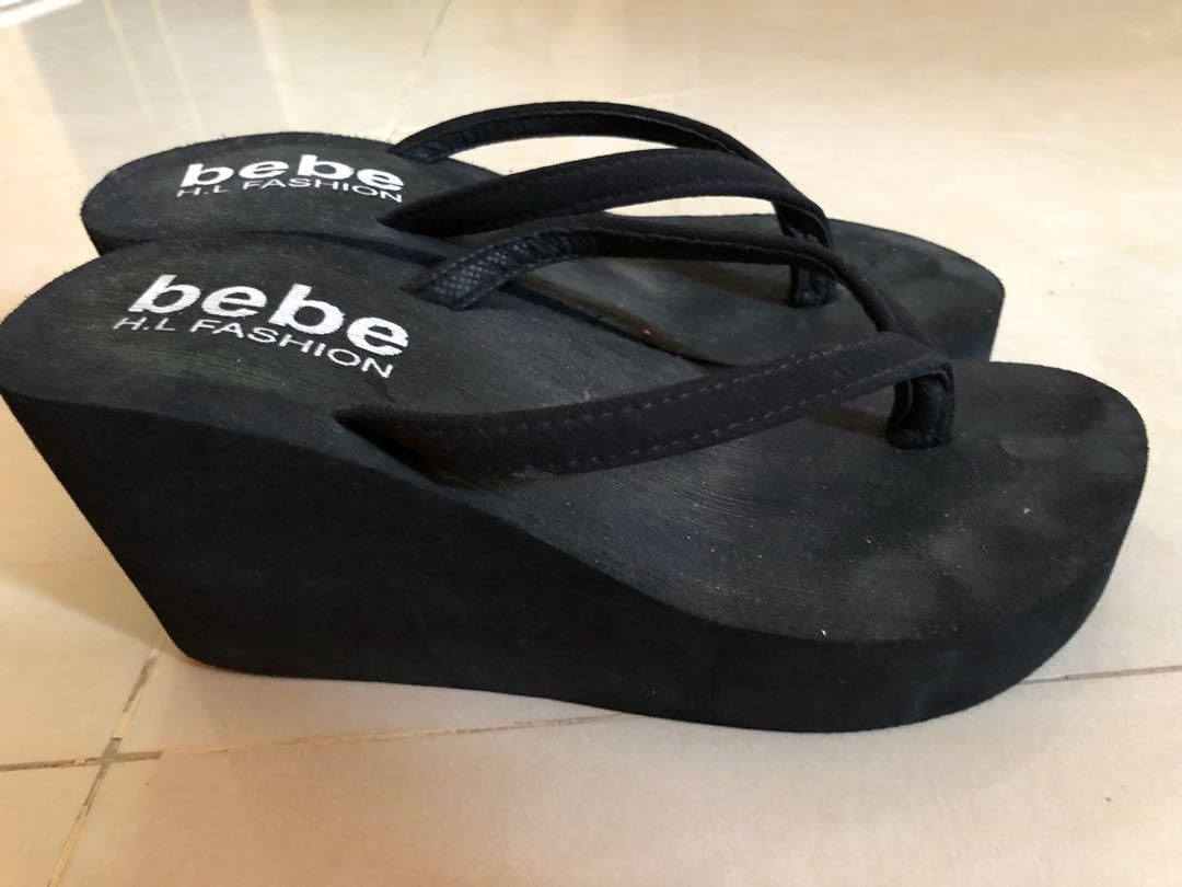 35f4ebc2e BeBe platform flip flops