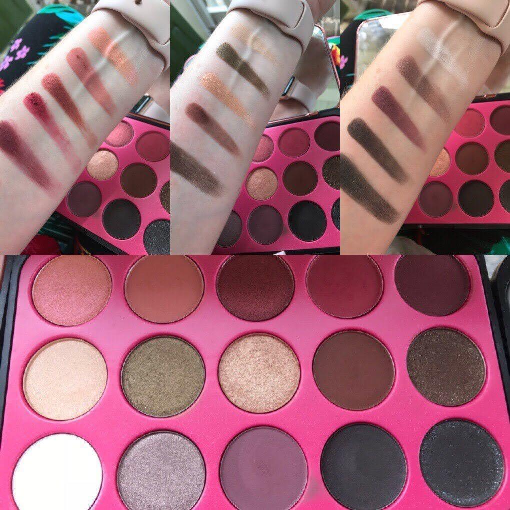 Bh Cosmetics Glam Reflection 15 Color Eyeshadow Palette L