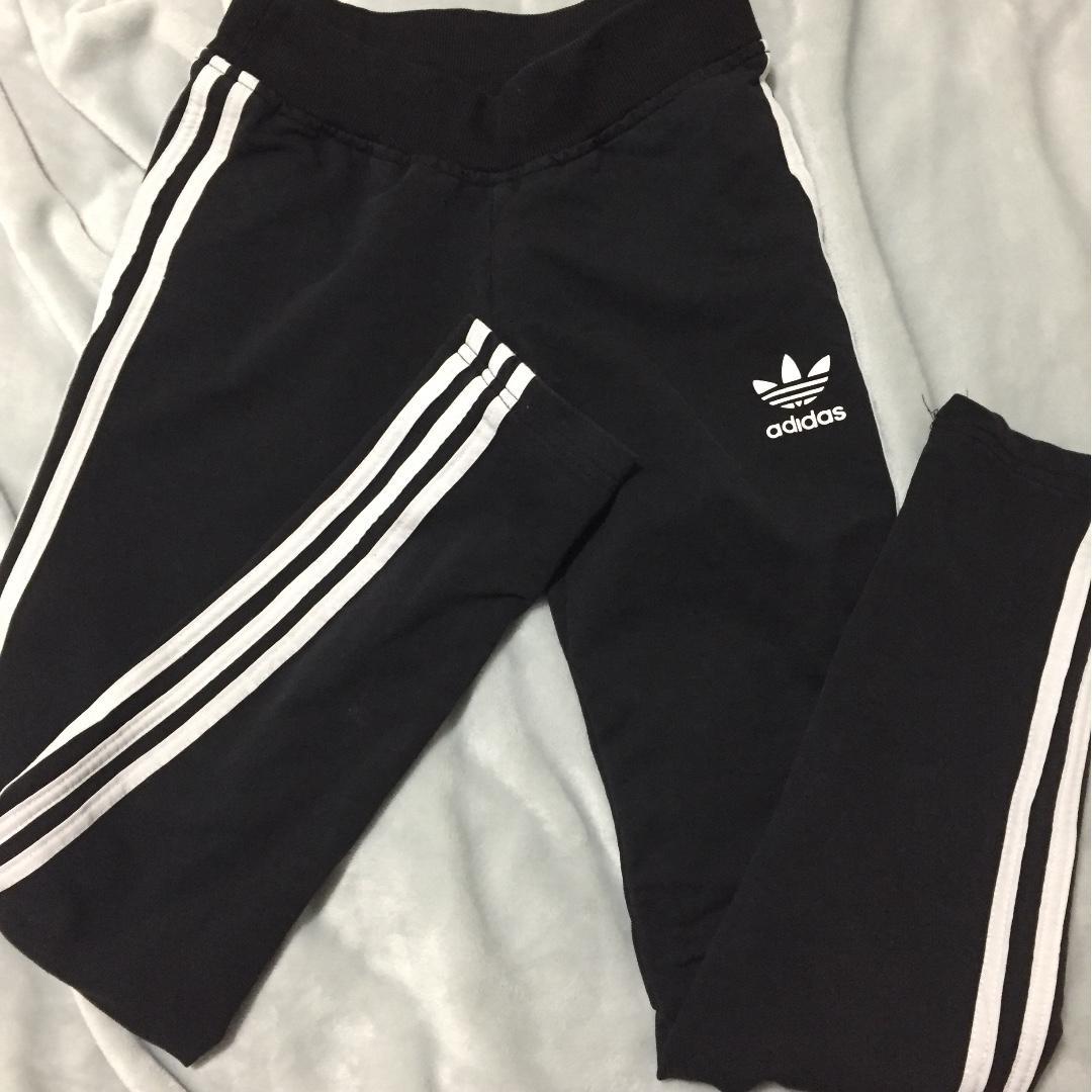 Black adidas leggings / tights