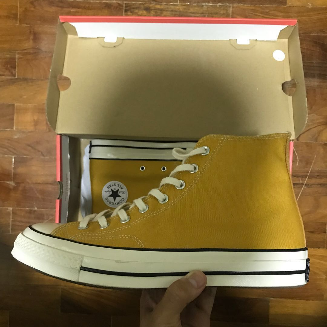 24debe1f25ba65 BN Converse Chuck 70s High Sunflower Yellow