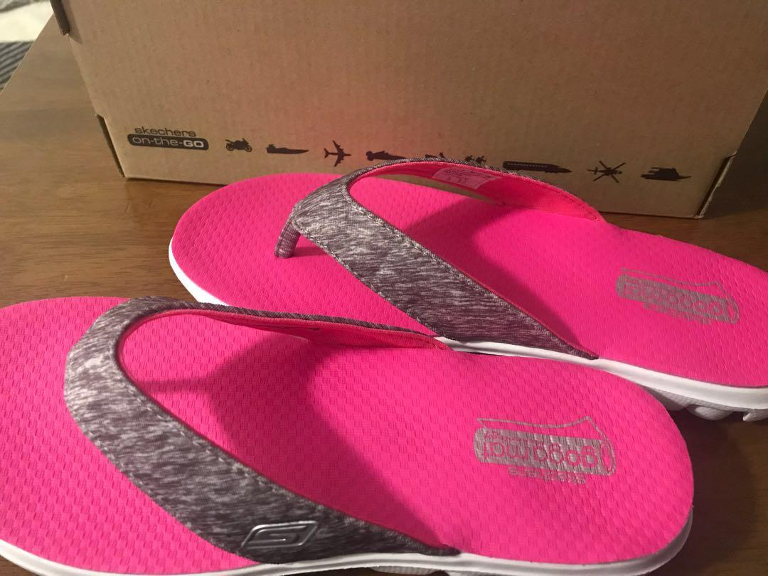 Brand New Skechers SlipperFlip Flop Women, Women's Fashion