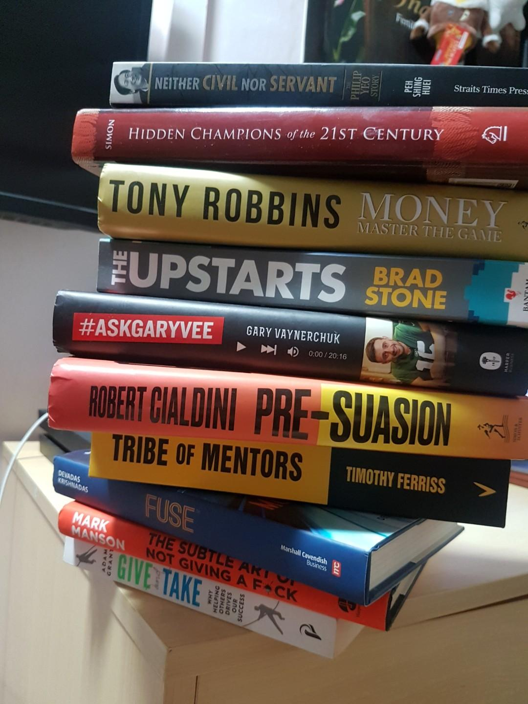 Business, strategy, personal development books on sale