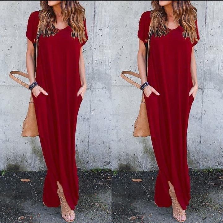 Casual Loose Maxi Long Dress