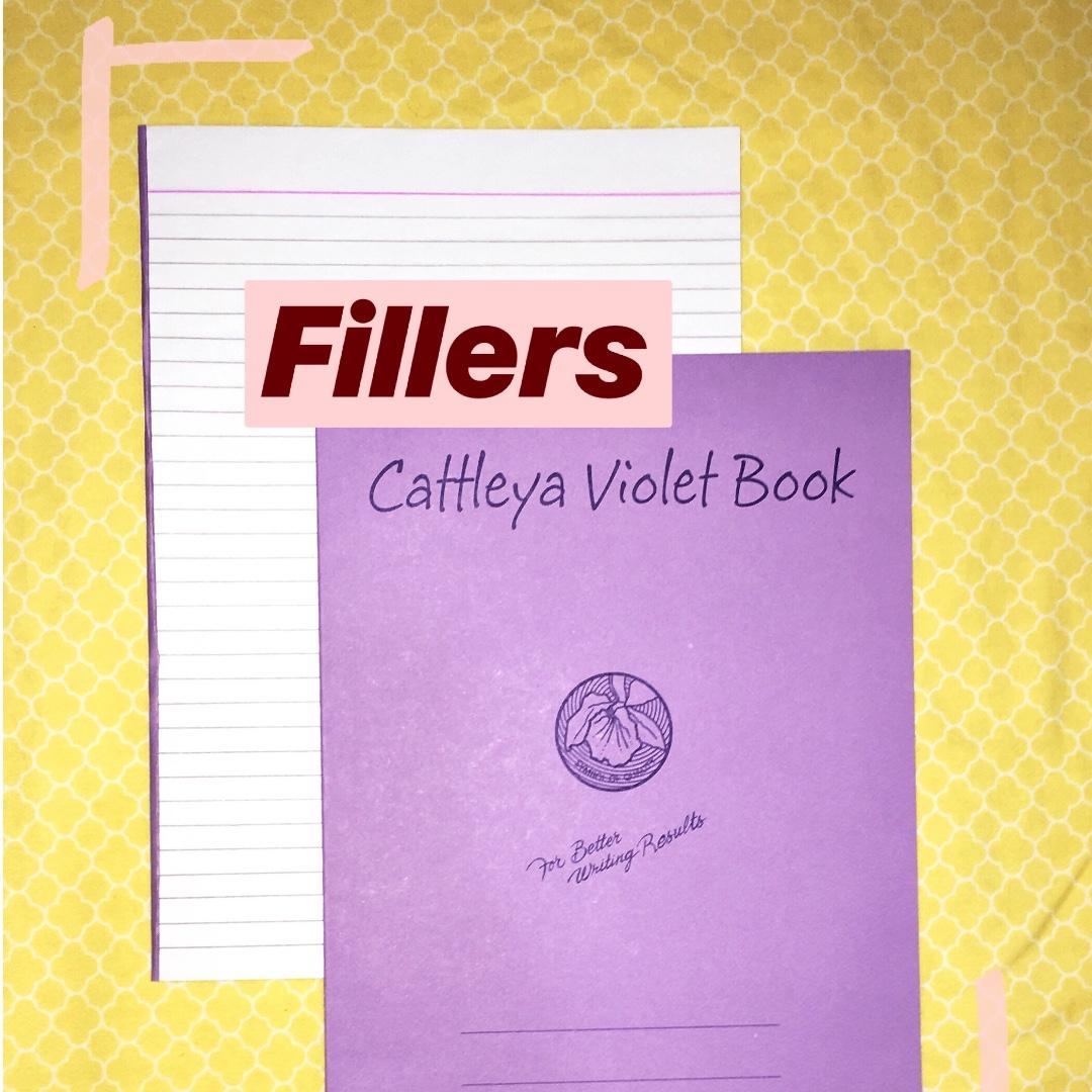 Cattleya Filler Notebook Regular Size Pack Of 4 On Carousell
