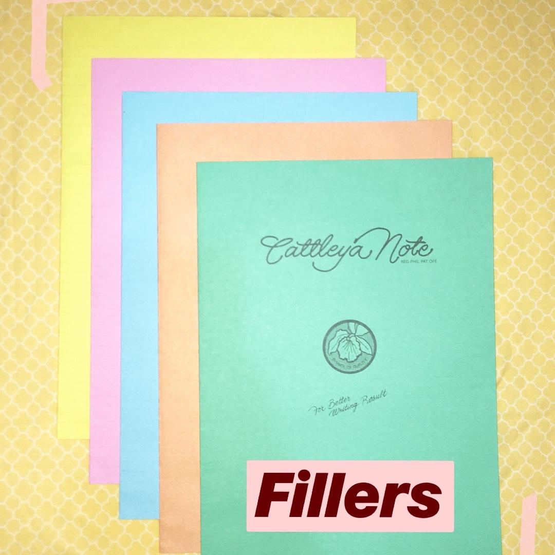 Cattleya Filler Notebooks Large Size Pack Of 5 On Carousell