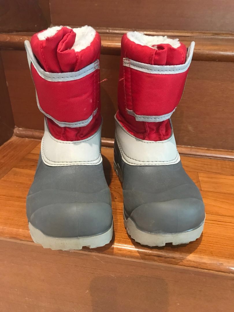 44084c372db Cozy   Lined Kids Snow Boots size 12-12.5