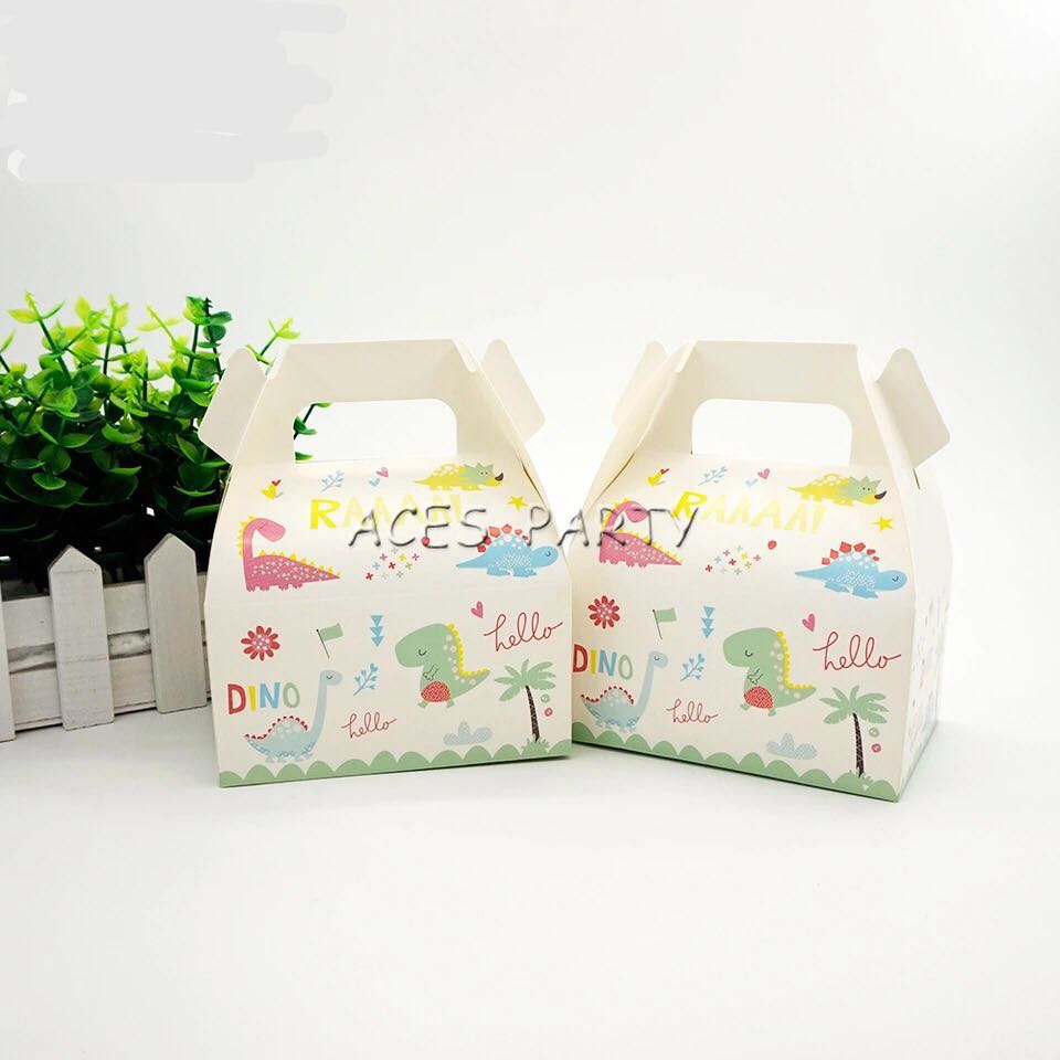Dinosaur Theme Party Supplies Candy Boxes Goodie Boxes Gift Boxes Party Gifts Goodie Bag