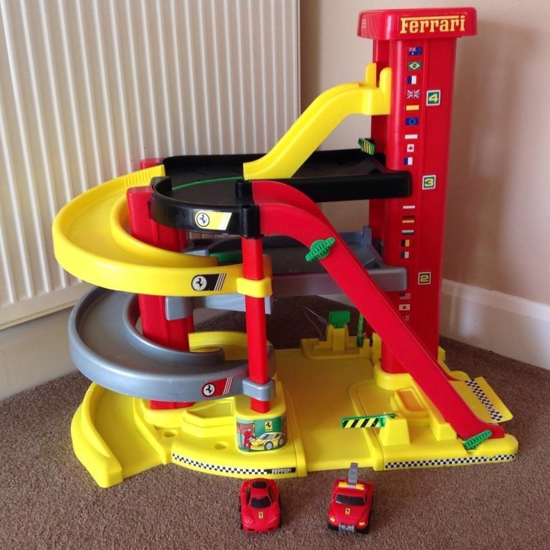 Fisher Price Ferrari Parking Garage Set Babies Kids Toys