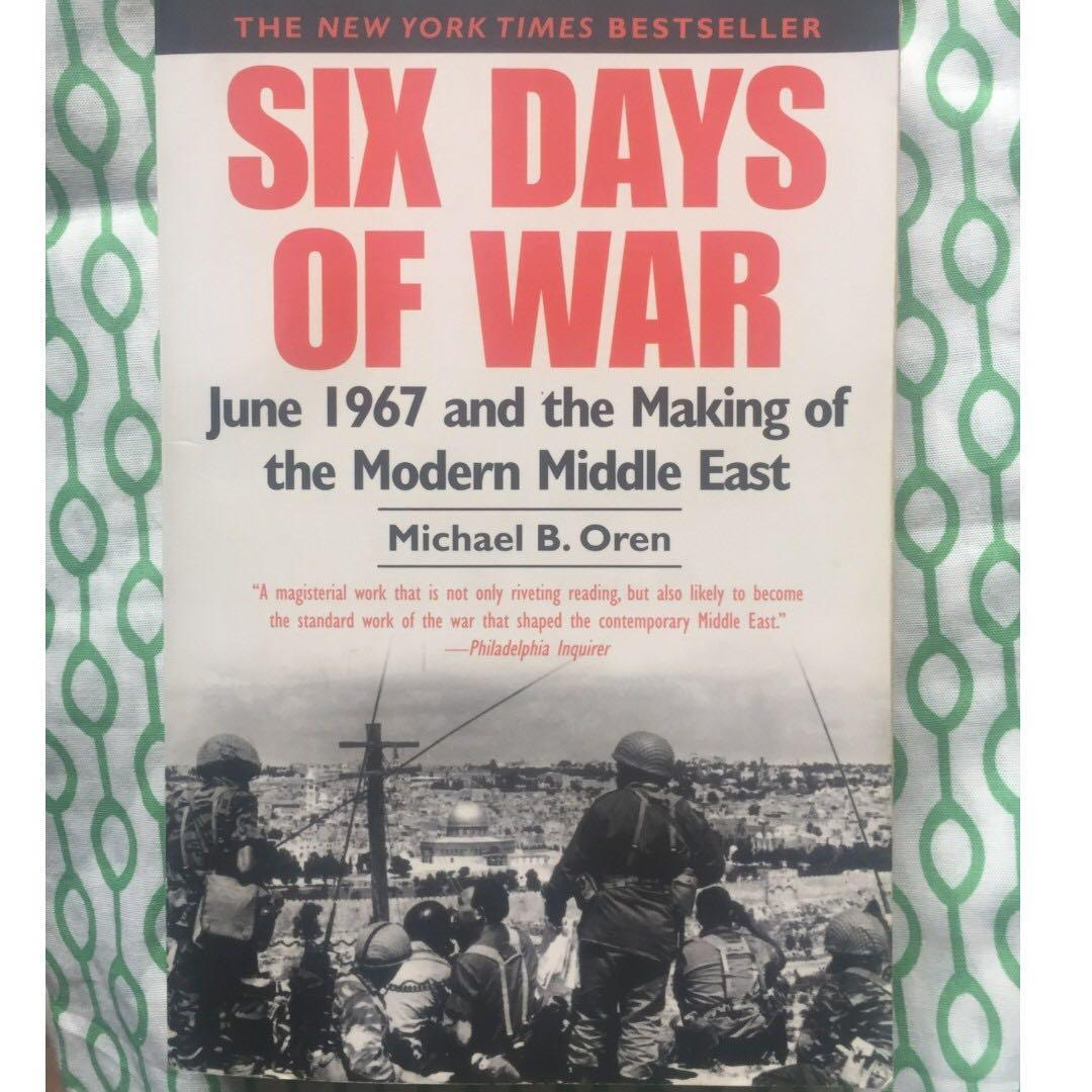 Free Shipping w/in MM) Six Days of War: 1967 and the Making of the