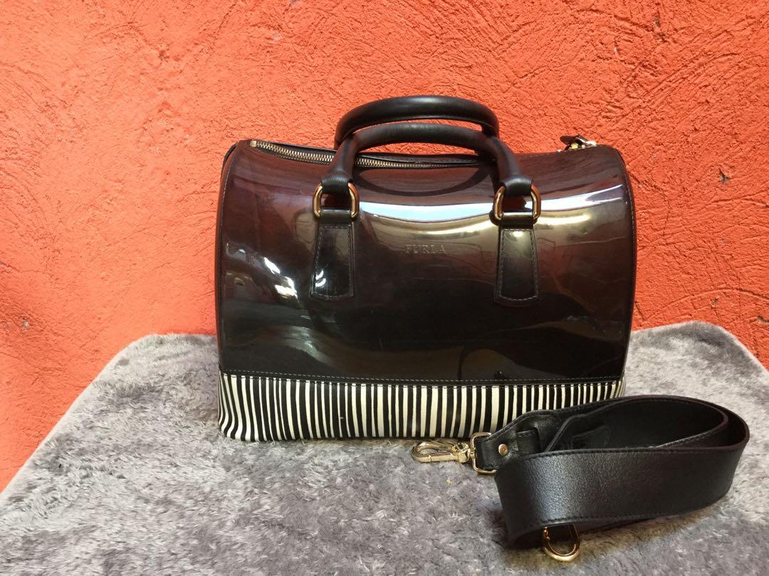 f751f8fa4f FURLA ( Candy Bag 2way), Women's Fashion, Bags & Wallets on Carousell