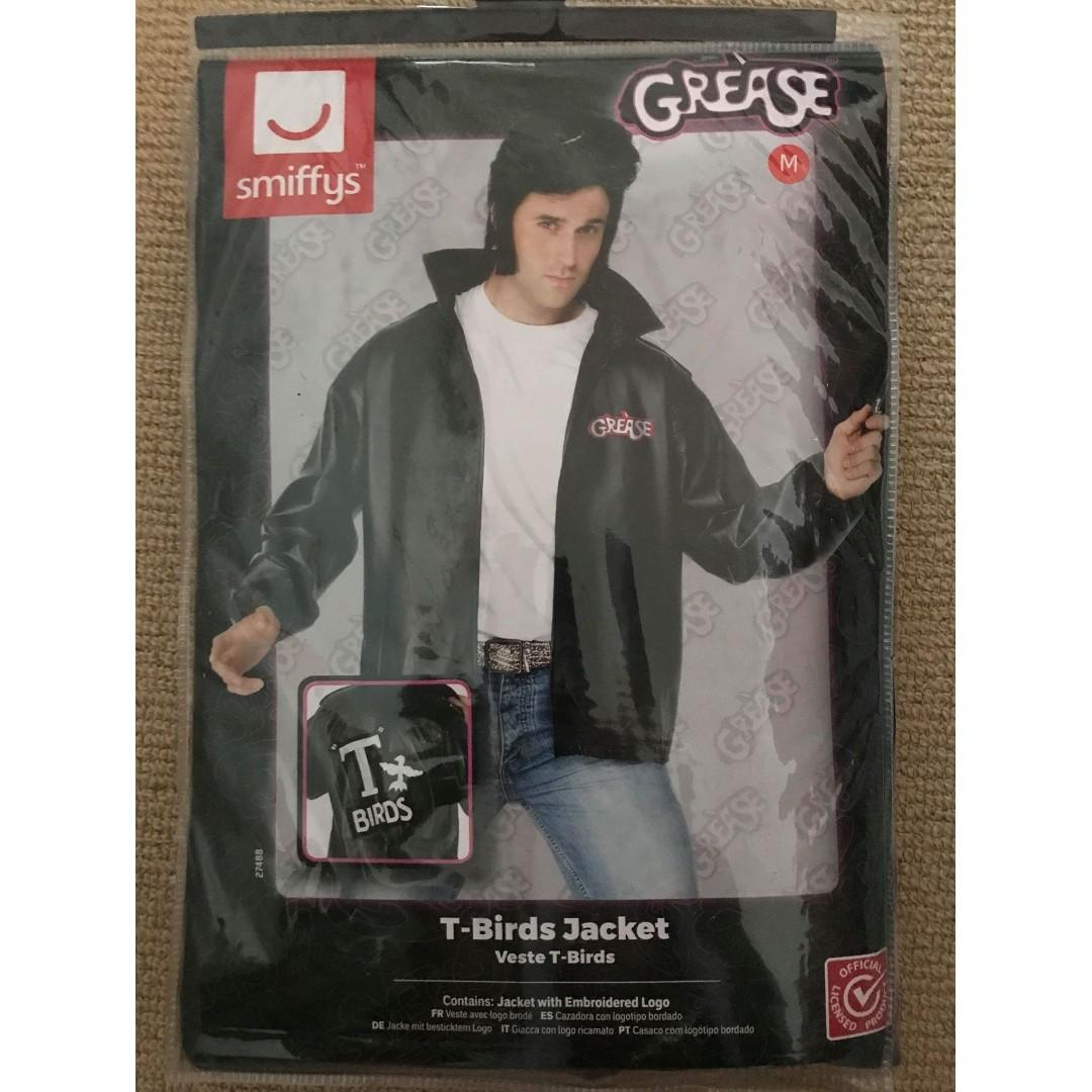 Grease T-Birds 'leather' jacket size M