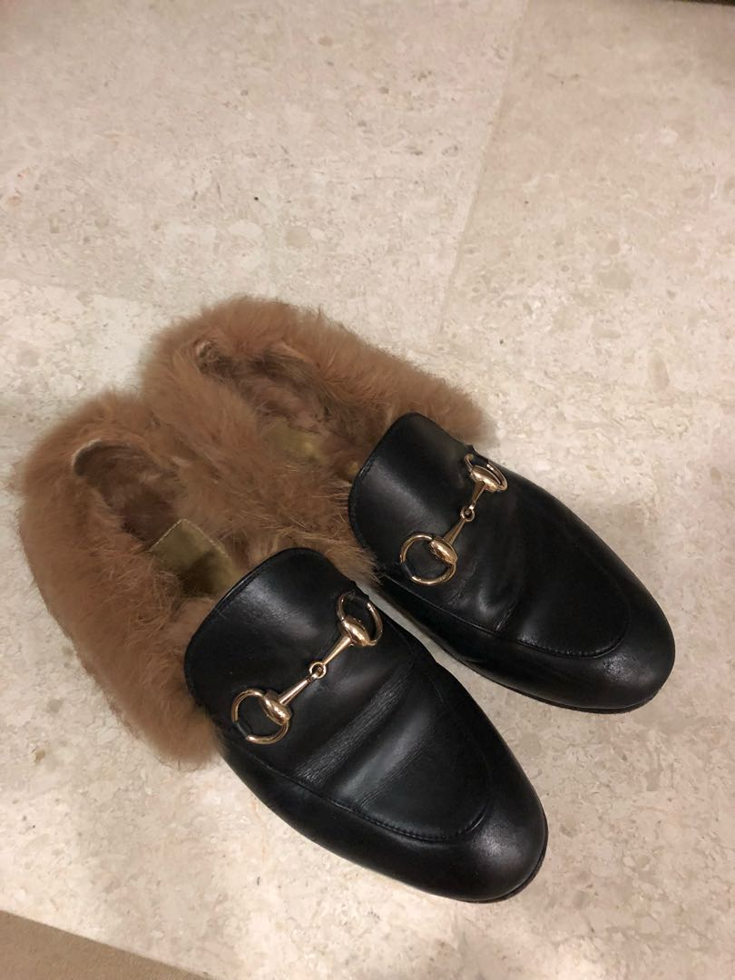 388e182aa0e Gucci old version fur loafer