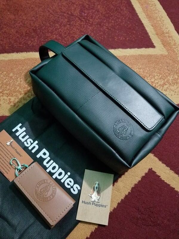 HUSH PUPPIES BLACK POUCH (Best Seller!!) 3aa4706479