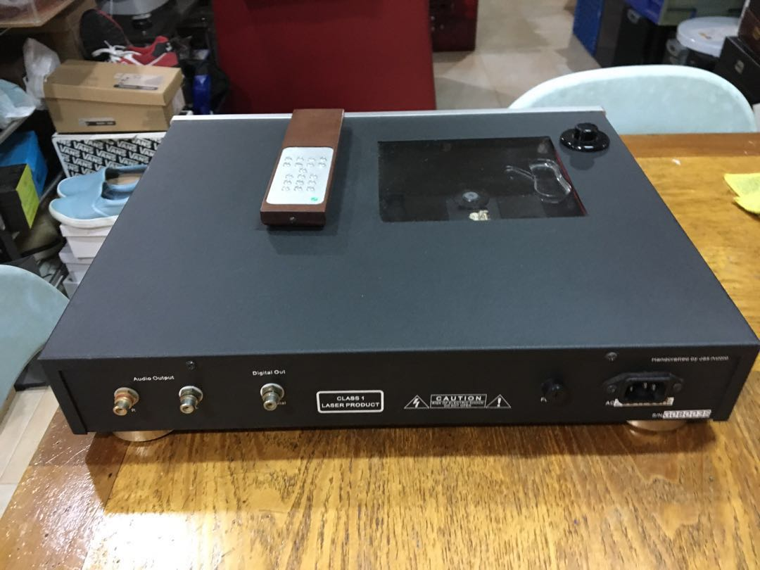 Jas Audio Green Power CD One top loading cd player Jas_audio_top_loading_cd_player_1538398985_c8fc1788