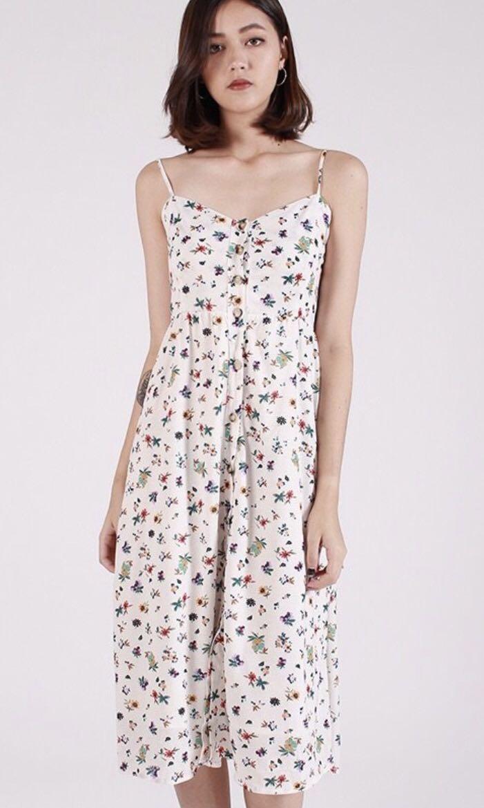 dc73923747 Kissablebella mini floral button down midi dress