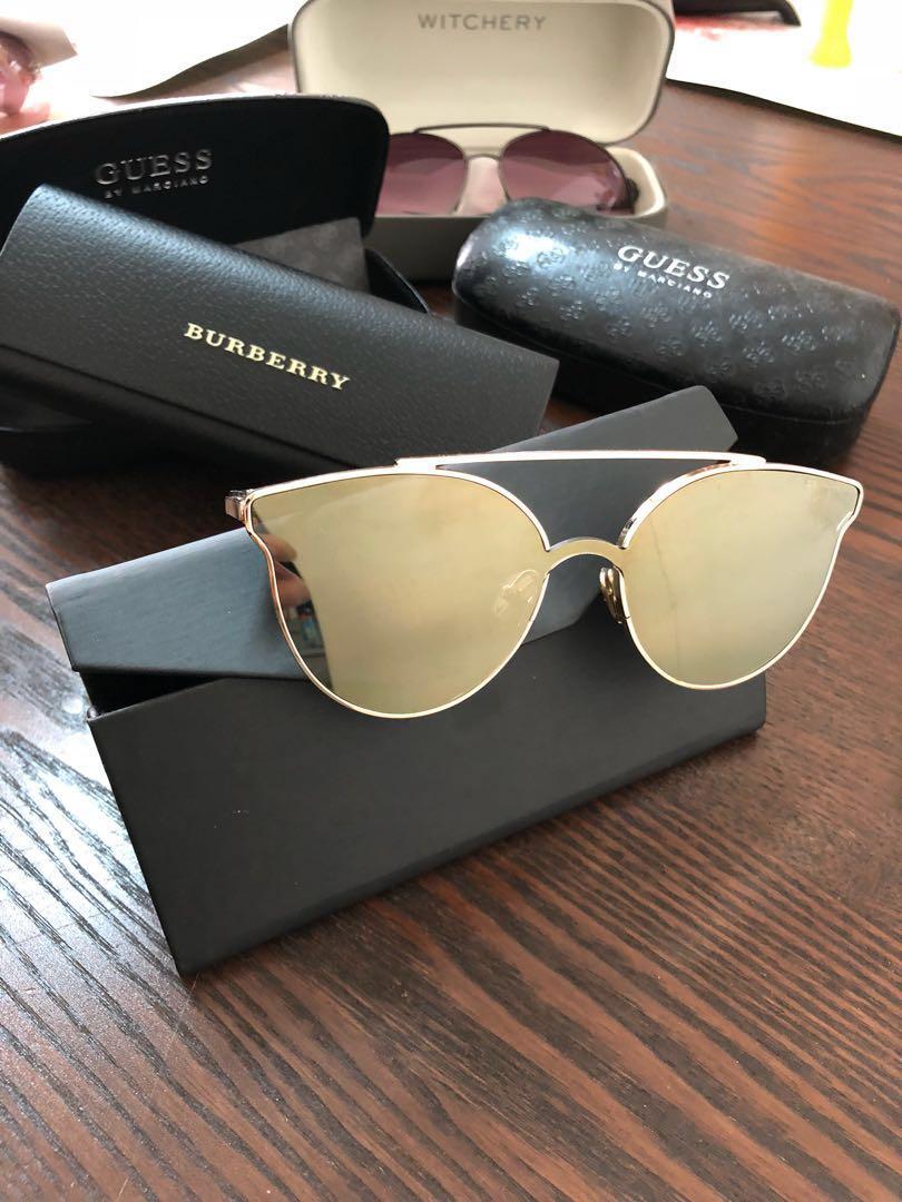 507bb2d43 Korean Cateye Sunglasses, Women's Fashion, Accessories, Eyewear & Sunglasses  on Carousell