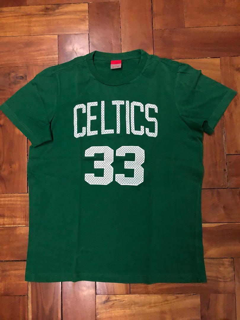 low priced 2800d cb101 Larry Bird Celtics Jersey Tee