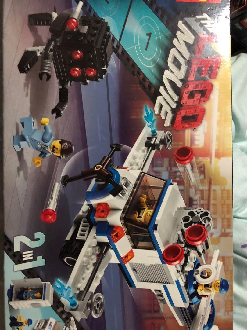 Lego Movie The Flying Flusher Toys Games Bricks Figurines On Carousell