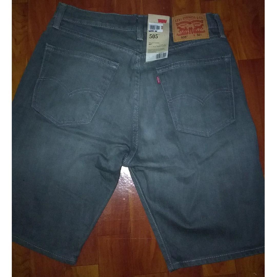 98357c8e87 Levi's 505 Regular Fit Shorts Size 32, Men's Fashion, Clothes ...