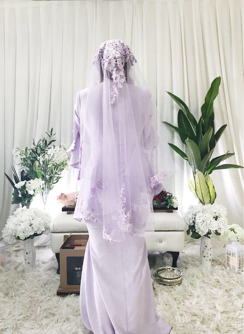 Light purple veil (Rent / Purchase)
