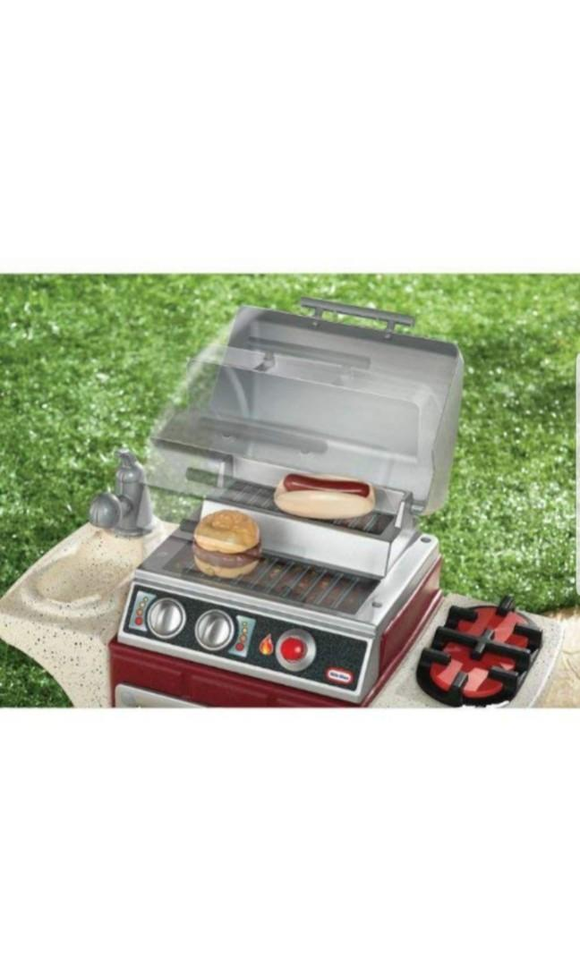 Little Tikes Backyard Barbeque Get Out 'N Grill Kids ...