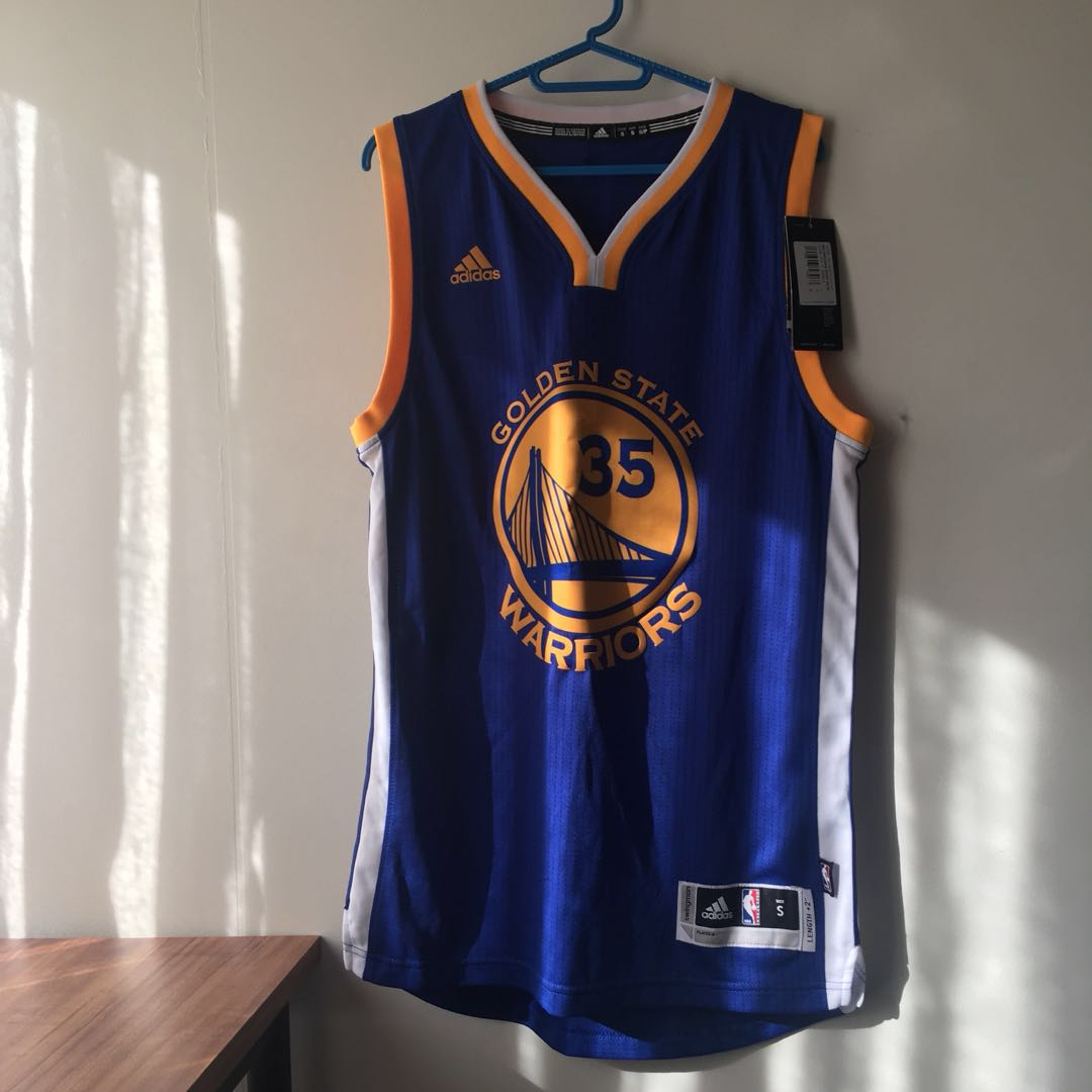 402fee43063 NBA Jersey - Kevin Durant 35 (GSW), Men's Fashion, Clothes on Carousell