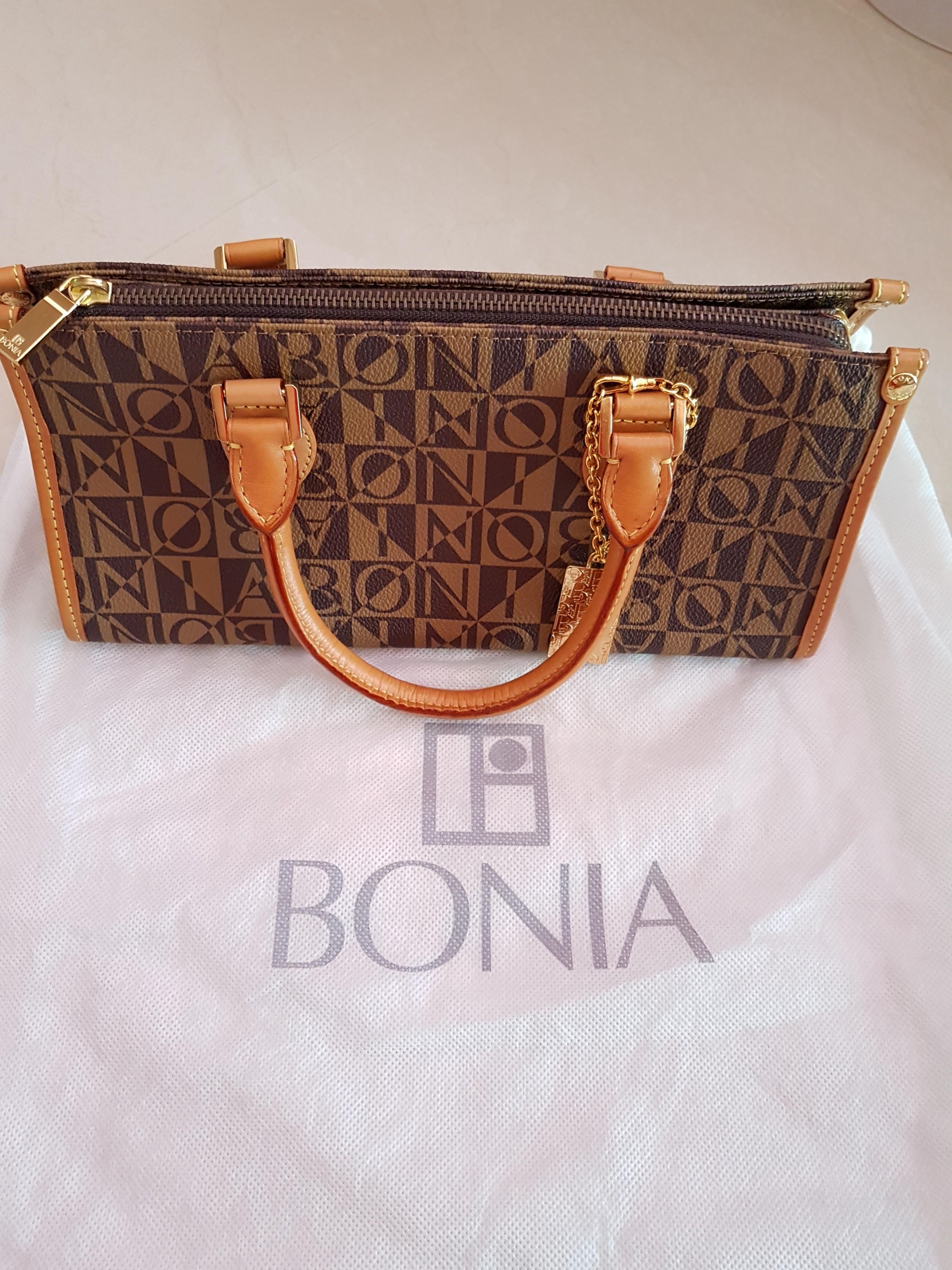 New Authentic Bonia Hand Bag Luxury Bags Wallets Handbags On Carou