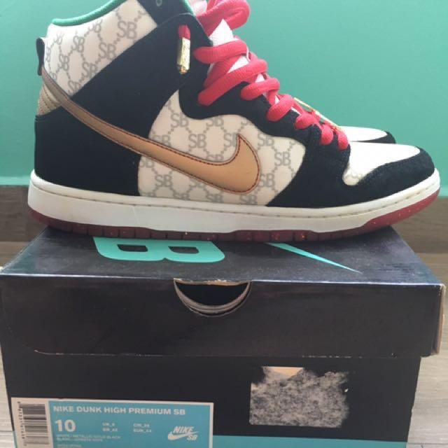 Nike Sb Dunk High X Blacksheep \