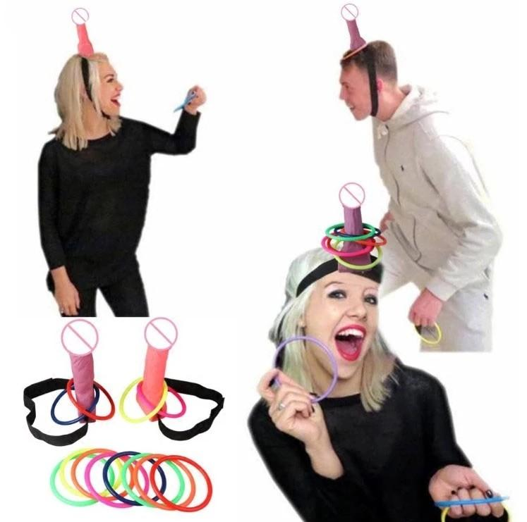 Phallic Hoop Game - Hen's Night