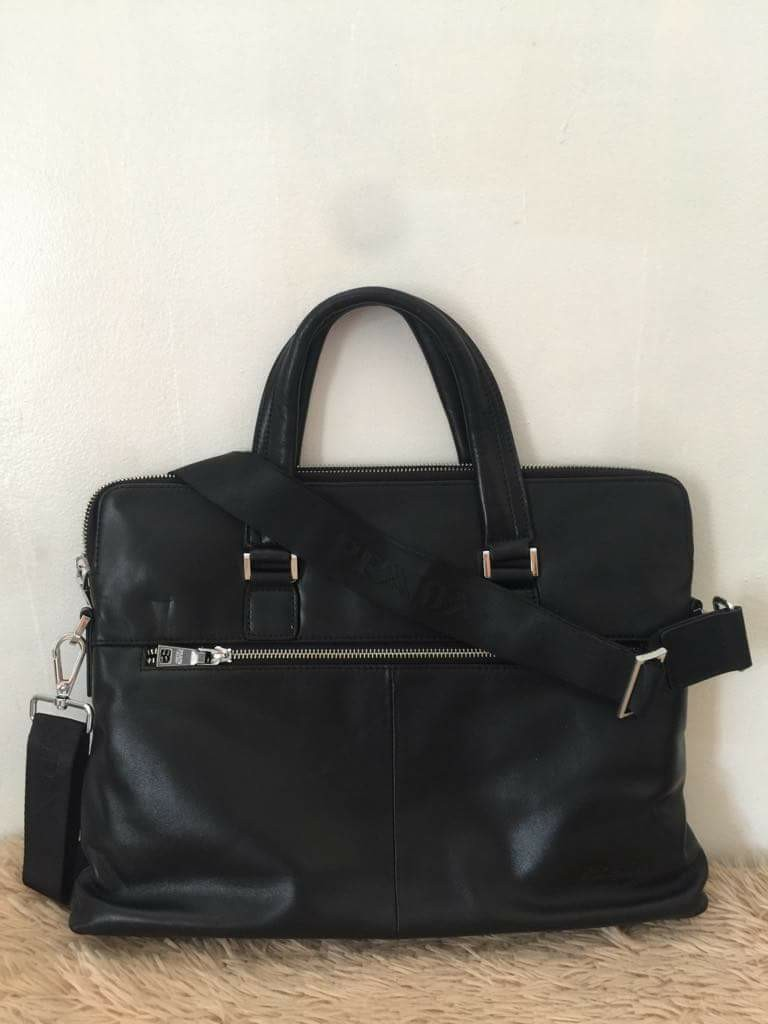 94eed47f76 ... wholesale prada milano tote laptop bag luxury bags wallets on carousell  01685 0fa54 ...