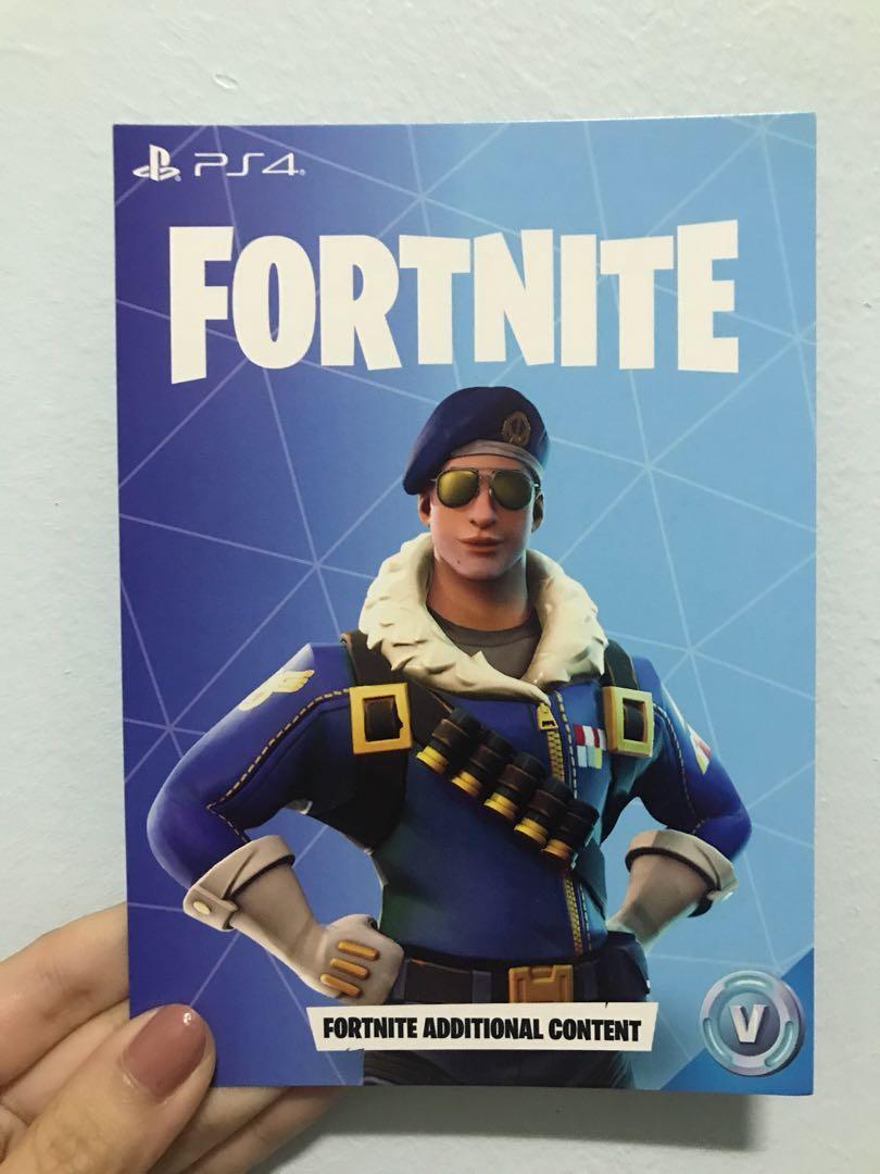 Ps4 Fortnite Bundle Royale Bomber Skin Toys Games Video