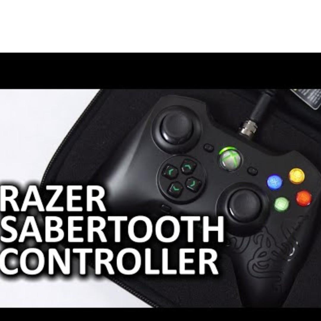 Razer Sabretooth - Professional E-Gaming Controller (PC & Xbox 360)