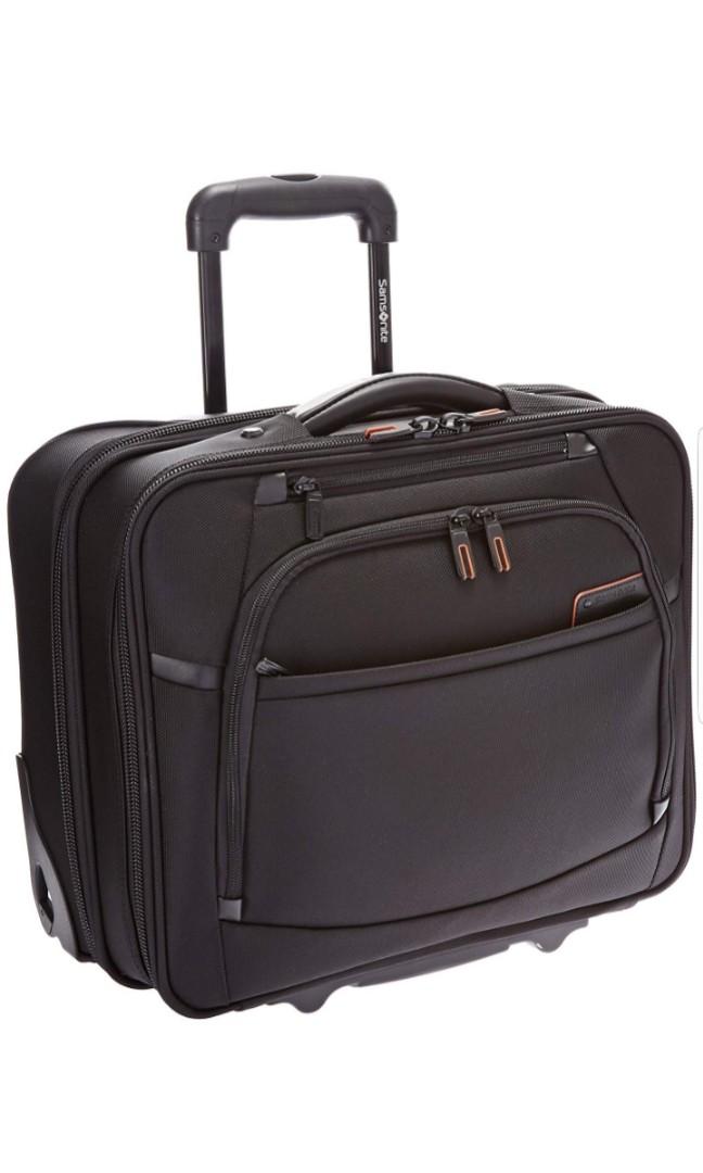 best website e3cdc a3550 Samsonite Pro 4 DLX Mobile Office PFT, Black Rolling Office Bag