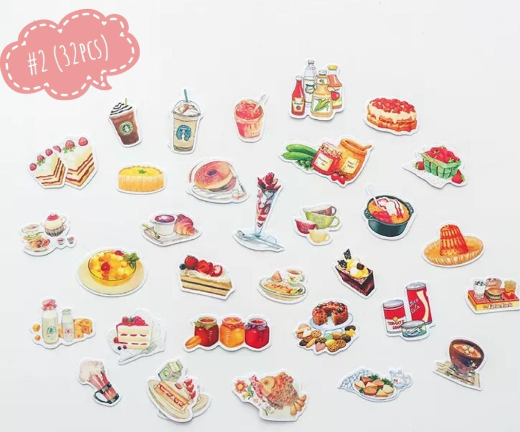 [S](#1-#6)Dessert time stickers
