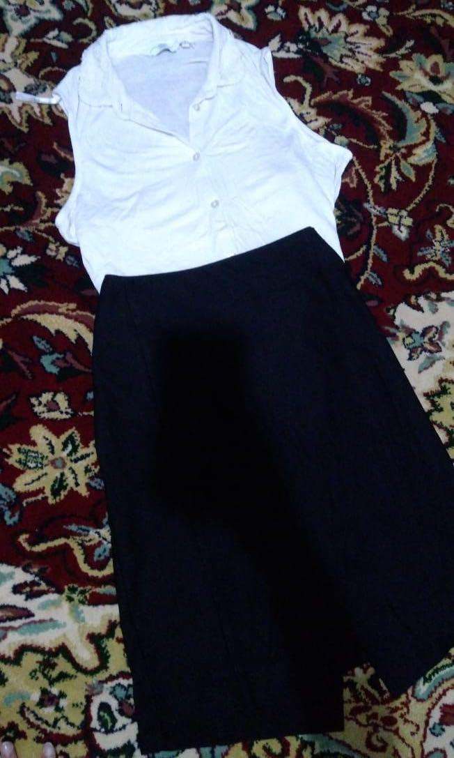 The Executive Black Skirt