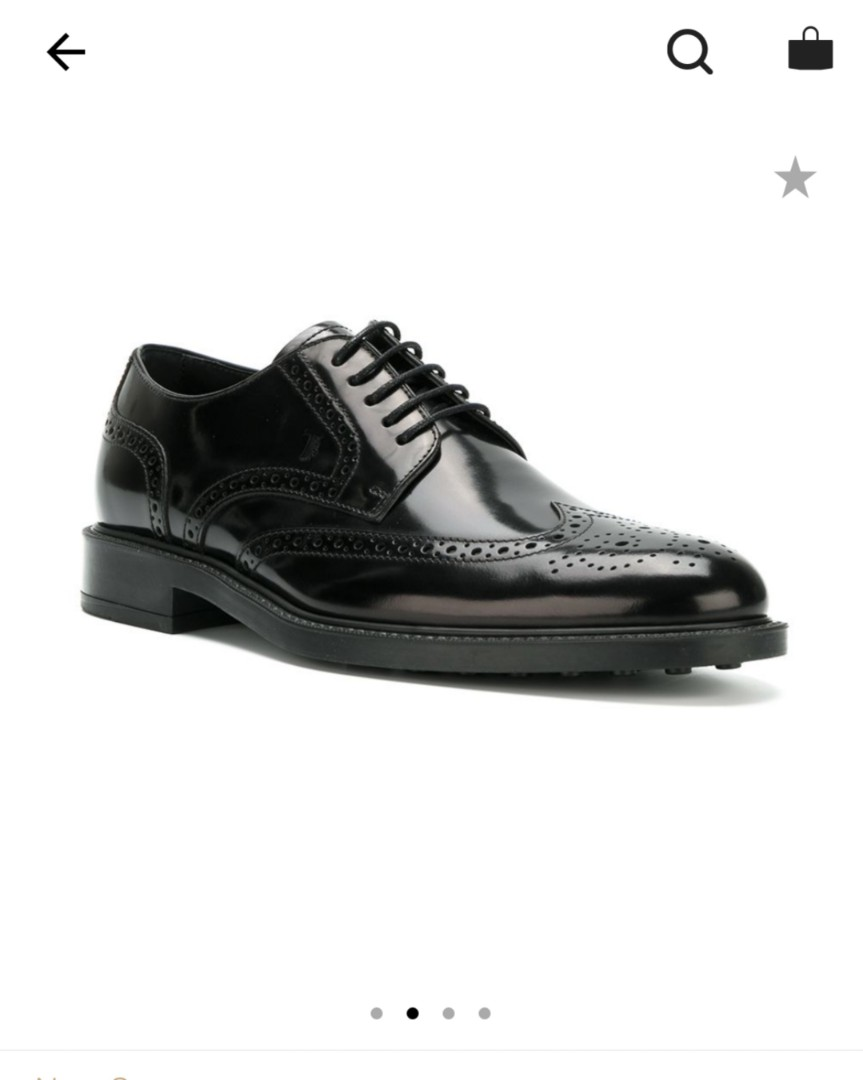 d018566dae Tod's classic brogue shoe, Men's Fashion, Footwear, Formal Shoes on ...